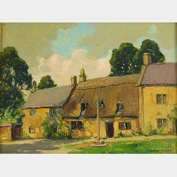 John F. Enser (American, 1898-1968)      A Stanton Street, Cotswold