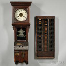 International Time Recorder Time Clock