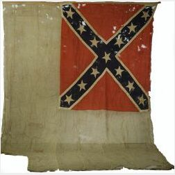 Confederate Second National Garrison Flag
