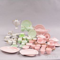Approximately Ninety-three Bone China Tea Wares and Serving Dishes.