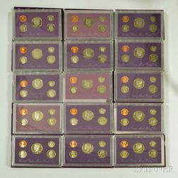 Group of Mint Olympic and Proof Sets