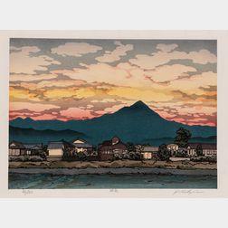 Nishijima Katsuyuki (b. 1945), Woodblock Print