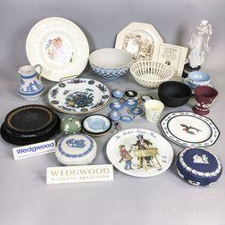 Thirty-six Wedgwood Ceramic Items
