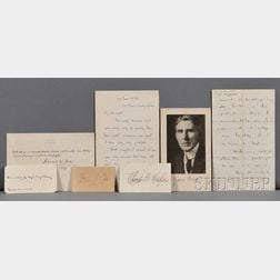 Literary Signatures, Ten Assorted Pieces: