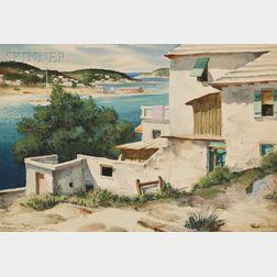 Henry Martin Gasser (American, 1909-1981)      Bermudian Scene