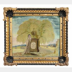Elizabeth Whittemore Needlework and Painted Memorial