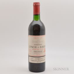 Chateau Lynch Bages 1987, 1 bottle