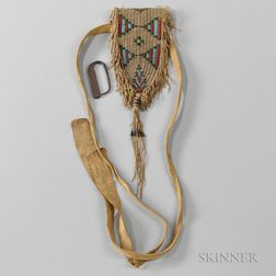 Cheyenne Buffalo Hide Belt Pouch