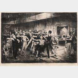 George Bellows (American, 1882-1925)      Business Men's Class