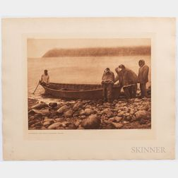 Ten Edward Sheriff Curtis Diomede Photogravures, c. 1914 to 1928.