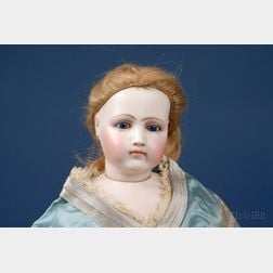 Portrait Jumeau Swivel-Head Fashion Doll and Original Outfits
