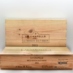 La Chapelle de la Mission Haut Brion 2011, 12 bottles (2 x owc)