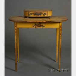 Federal Paint-decorated Dressing Table