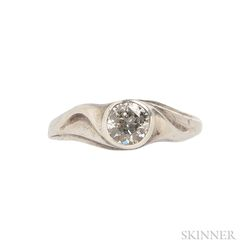 Silver and Diamond Solitaire