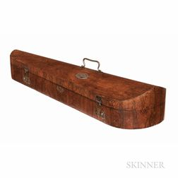 Two Rosewood Veneer Violin Cases for W.E. Hill & Sons, c. 1890