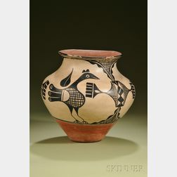 Southwest Painted Pottery Olla