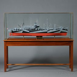 Scale Model of the Attack Transport U.S.S. Cambria