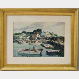 Gordon Hope Grant (American, 1875-1962)      The Cove.