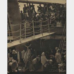 Alfred Stieglitz (American, 1864-1946)      The Steerage