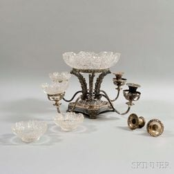 Old Sheffield Silver-plate Epergne