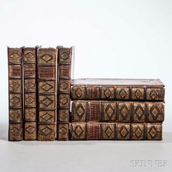 Temple, Sir William (1628-1699) Five Titles in Seven Volumes, 1693-1703.