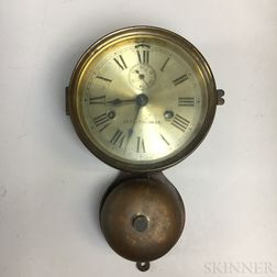 Seth Thomas Model 30 Ship's Bell Clock