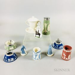 Ten Small Mostly Wedgwood Ceramic Items.