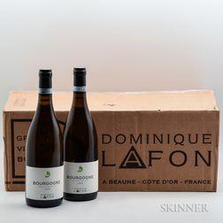 Dominique Lafon Bourgogne Blanc 2015, 12 bottles (oc)