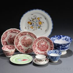Eleven Assorted English Pottery Items