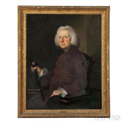 Joseph Blackburn (British, c. 1730-c. 1778)      Portrait of William Bromley, Esquire