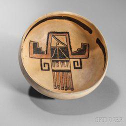 Sityaki Polychrome Pottery Bowl