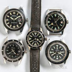 Five Vintage Dive Watches