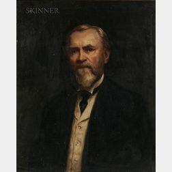 Abbott Handerson Thayer (American, 1849-1921)    Portrait of Henry Phipps Jr.