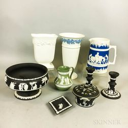 Eight Wedgwood Ceramic Items