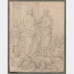 Hippolyte-Jean Flandrin (French, 1809-1864)      Ecce Homo