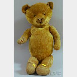 Gold Mohair Teddy Bear