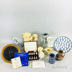Fourteen Wedgwood Ceramic Items