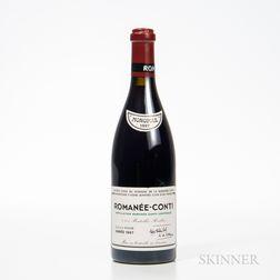 Domaine de la Romanee Conti Romanee Conti 1997, 1 bottle