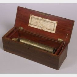 Early Key-Wind Musical Box by L'Epee