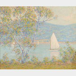 Francis Stillwell Dixon (American, 1879-1967)      A Summer Sail