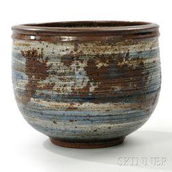 Large Vivika and Otto Heino Stoneware Bowl