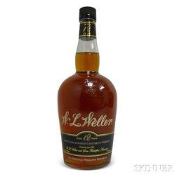 W.L. Weller Bourbon 12 Years Old Embossed Wheat, 1 1000ml bottle