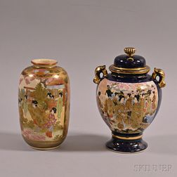 Satsuma Covered Jar and Vase