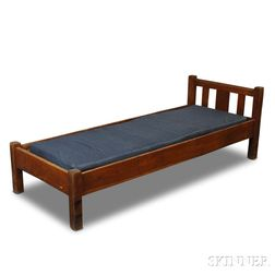 Stickley Bros. Quaint Furniture Arts and Crafts Oak Day Bed