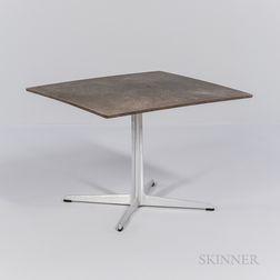 Arne Jacobsen (1902-1971) for Fritz Hansen Square-top Side Table