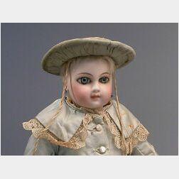 Portrait Jumeau Bebe Mabel Rose Welch II with Original Wardrobe