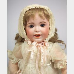 "SFBJ 236 Bisque Head ""Laughing Jumeau"" Character Baby"
