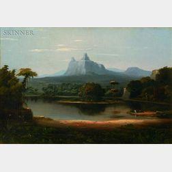 Robert Scott Duncanson (American, 1821-1872)    Landscape
