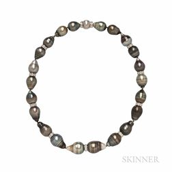 KCJ Baroque Tahitian Pearl Necklace
