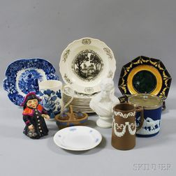 Twenty-two Mostly Wedgwood Items